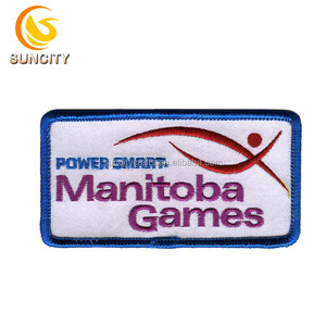 New Fashion Embroidery Patch For Work Clothes Iron On Jean Jacket Patches Power Smart Manitoba Games Design Embroidery Patch