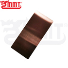 Color Decorative Stainless Steel Sheet for indoor and outdoor Decoration Rose Gold