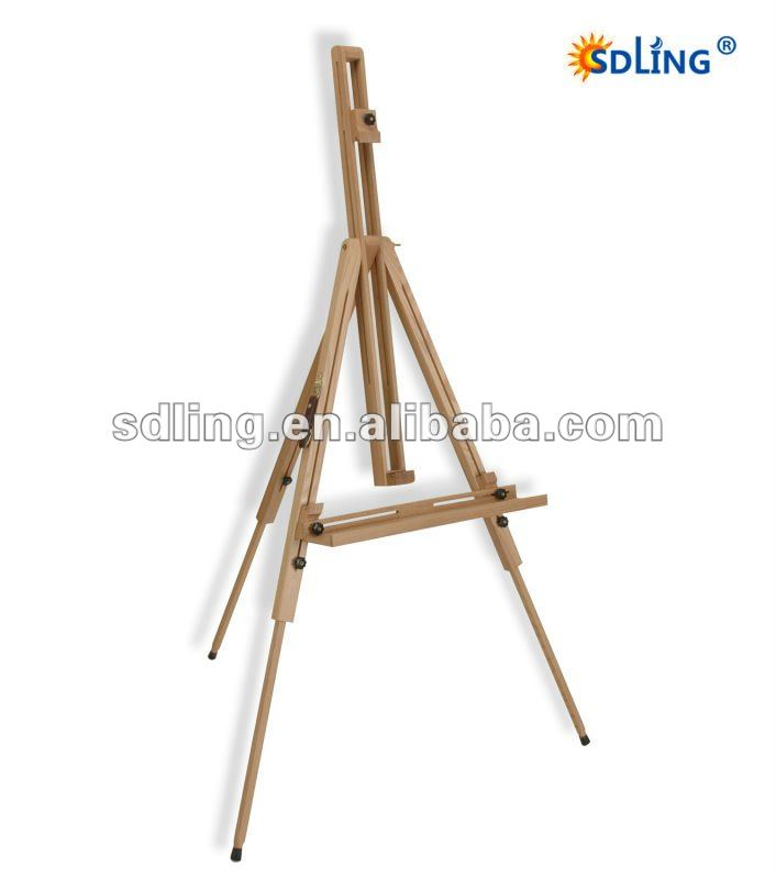 The high quality wooden Sketch easel
