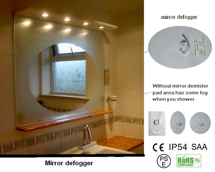 Bath Mirrors Type And Rectangle Mirror Shape Bathroom Mirror With ...