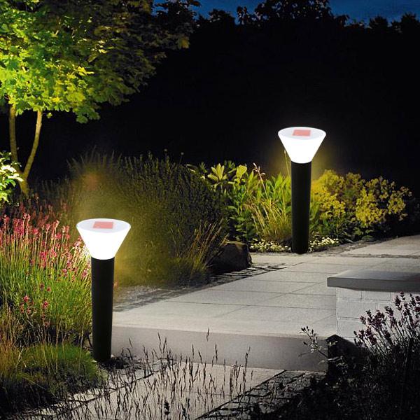 Decorative Led Solar Gate Post Lights