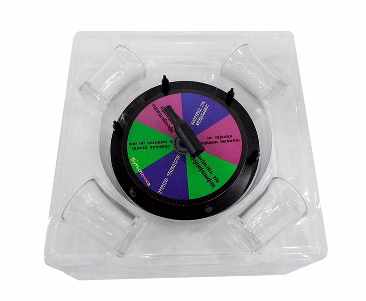 Double-Star Intelligent Desktop Drinking Game Wheel