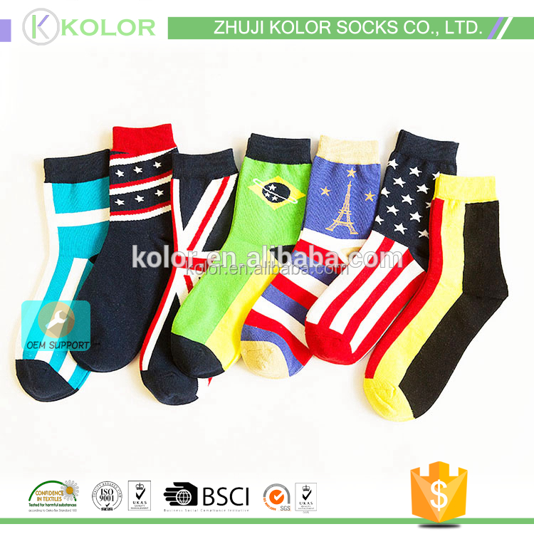 KOLOR-B-2762 days of the week socks