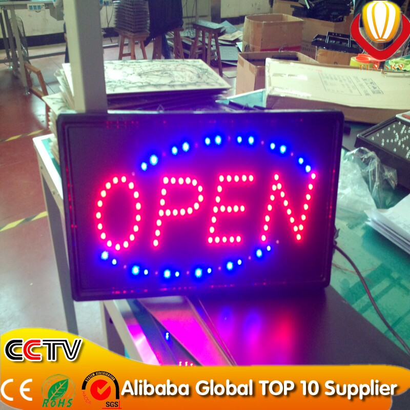 Electronic Components & Supplies Led Lighting Sign Board For Shops ...
