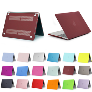 18 Colors Available Matte PC Shell Protective Case for Macbook Air/ Retina/ Pro 13.3 inch, Sample Available