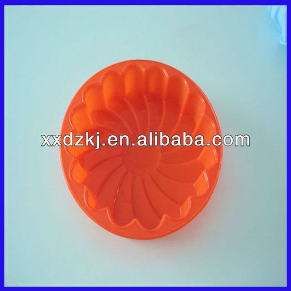 Mini Silicone Round Cake Pan for Children DIY Baking