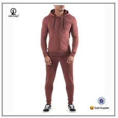 slim fit custom suit embroidered logo workout clothes sportswear gym wear tracksuit striped