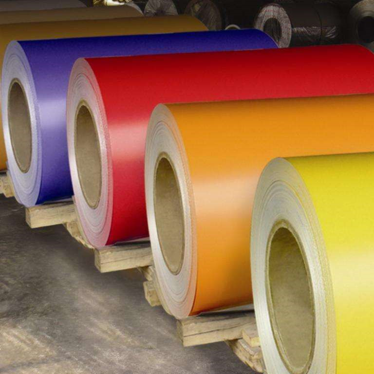 Colour coated galvanized steel coil / PPGI made in Long Yuan company