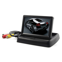 4.3 inch TFT LCD Car Monitor With Folded Design