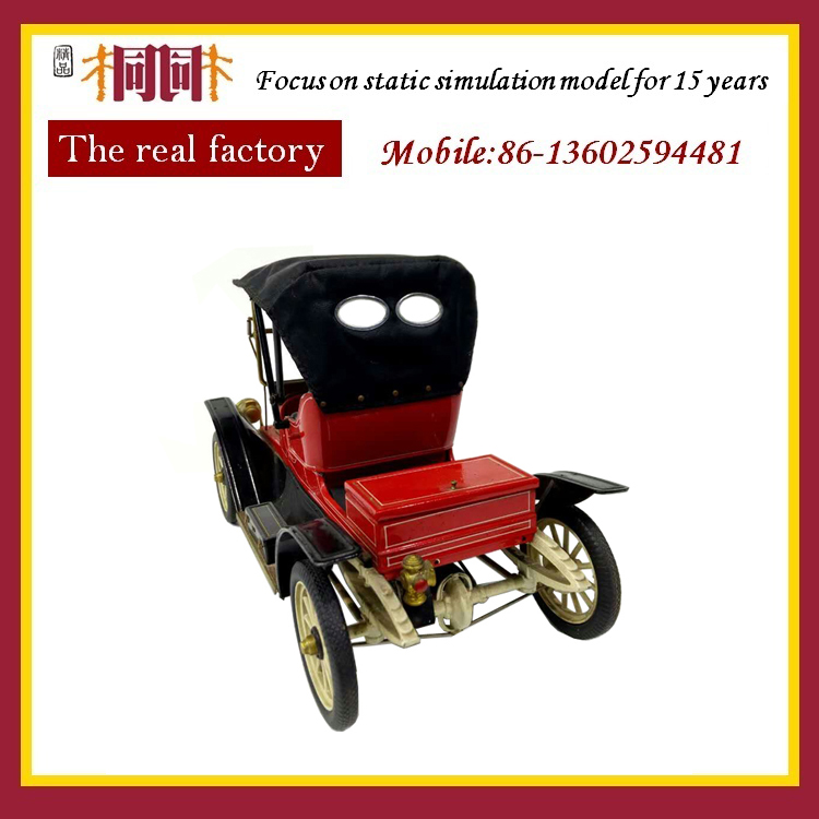 red diecast vintage car model collectible antique house car model 1 24 decorative vintage handmade car model collectible