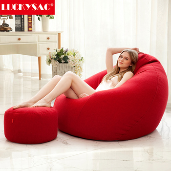 Custom color good quality wholesale puff bean bag chair