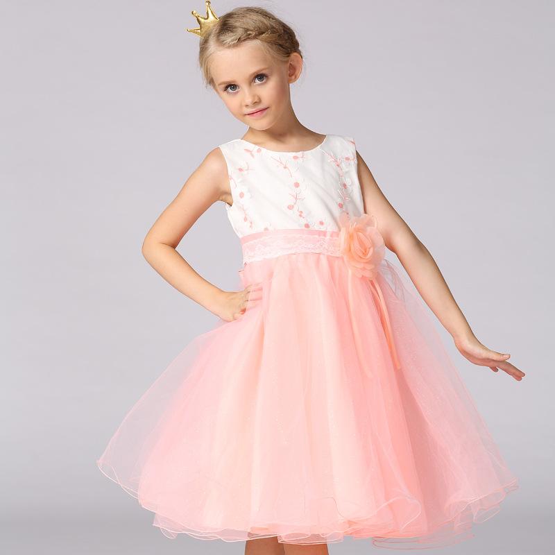 Últimas mangas patrones hadas vestidos princesa niños del diseño ...