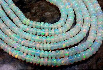 collier perle opale