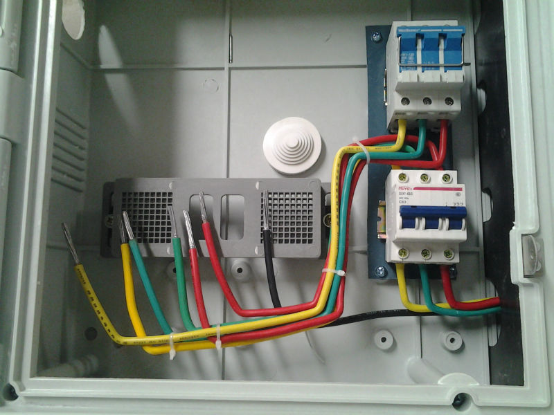 Iec Oem Odm Factory Outdoor Electrical 3 Phase Distribution Panel ...