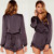 Sexy Play suit 100% Polyester Long Sleeve Play suits for Women Wholesale Custom Made in China