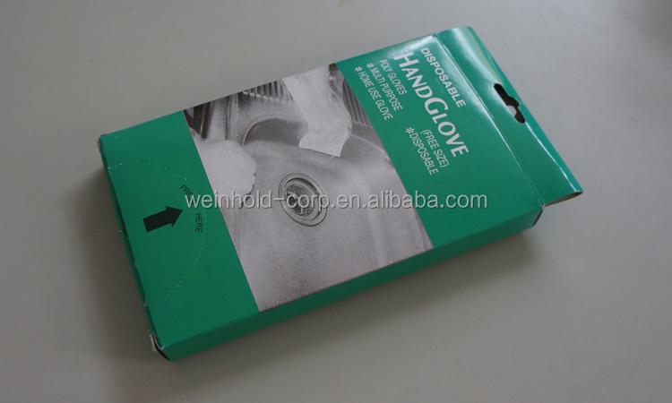 Disposable Cast Polyethylene Gloves Clear Plastic Pe Gloves