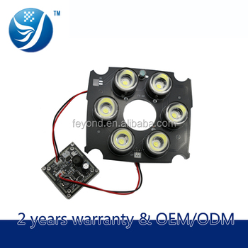Assembly Camera Conponents 42mil Array 6-led Infrared Rays Night ...