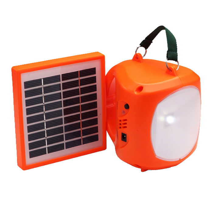 Red Plastic Material Led Solar Light For Reading With 10 Hours Working T