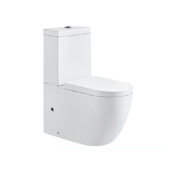 bathroom corner design two piece strap wc toilet bowl ceramic