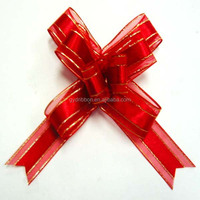 2016 Butterfly ribbon pull bow gift wrapping ribbon christmas decoration bow.