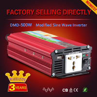 Shipping free for sample 12v 24v 48v dc 220v ac 150w 300w 500w portable car power inverter with high quality