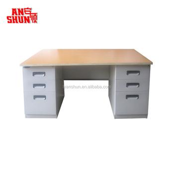 Escritorio De Oficina Diseño,Muebles De Oficina 3 Cajón Ordenador ...