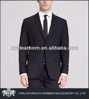 two buttons black mens suits outlet