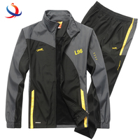 High Quality Tracksuit Men Two Piece Clothing Sets Casual Jacket+Pants 2Pcs Track Suit Sportswear Man