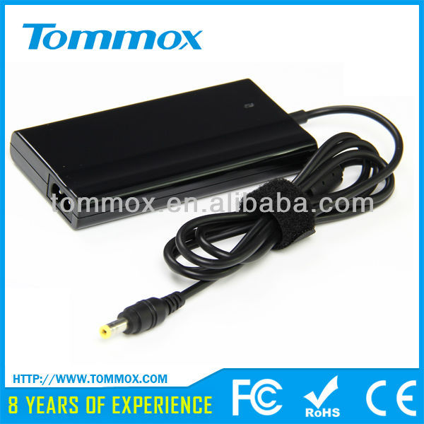 19V 3.42A slim port to hdmi adapter for toshiba slim 5.5*2.5I tip