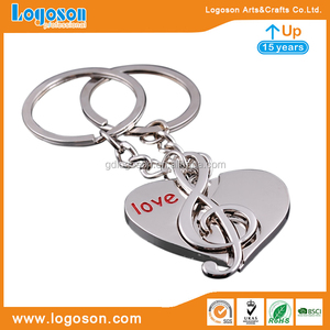 Free Design Magnetic Couple Keychain Couple Keychain Love Matching Keychains for Couples