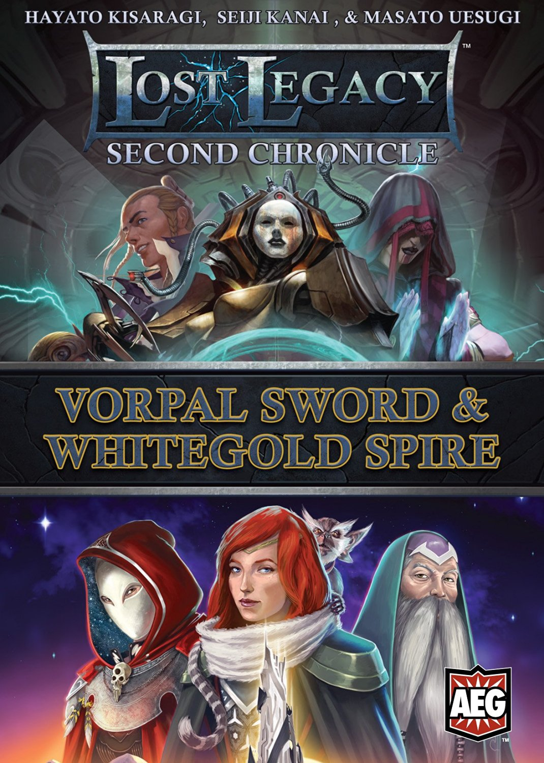 Lost Legacy Second Chronicle Vorpal Sword and White Gold Spire Board Game