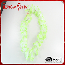 100% Handcrafted Hawaii Flower Lei Necklace for Party make lei garland