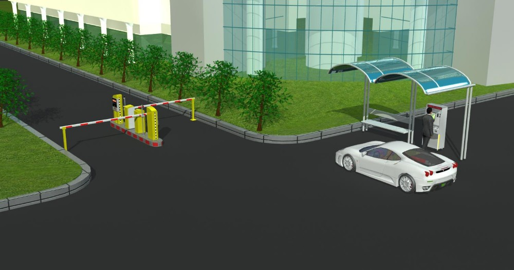 Car access control automated payment RFID based parking vehicle ...