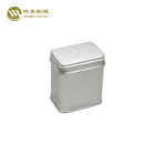 Custom printed small rectangle metal tin box for candy