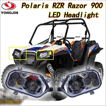 New Car Accessories For Polaris Atv Cheap 4x4 Atv Led Headlight For ...