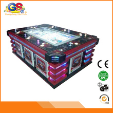 Coin Operated Game City Casino Commercial Electronic Video Fishing Arcade Game Table Cheap for Sale