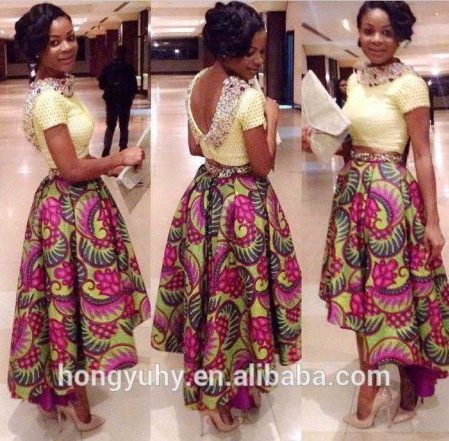 Factory Price Dashiki African Print Party Long Dresses For Women In