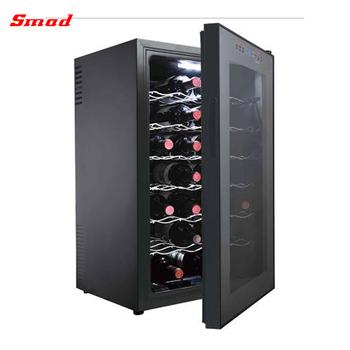 24 Bottles Touch Screen Door Humidity Control Wine Cooler