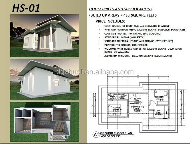 Good Modular Prefab Home Kit Price,low Cost Villa House Plan