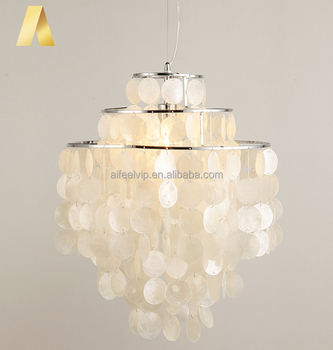 American Style Modern Capiz White Seashell Lighting Chandeliers Made Of Sea Shells For Living Room Buy White Chandelier Shell Chandelier Seashell Chandelier Product On Alibaba Com