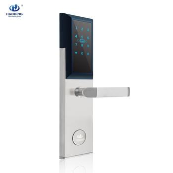Digital Touch Screen Keypad Passcode Door Lock Smart Keyless Door Lock Card  Key Password Locks - Buy Outdoor Keypad Door Lock,Keypad Passcode Door
