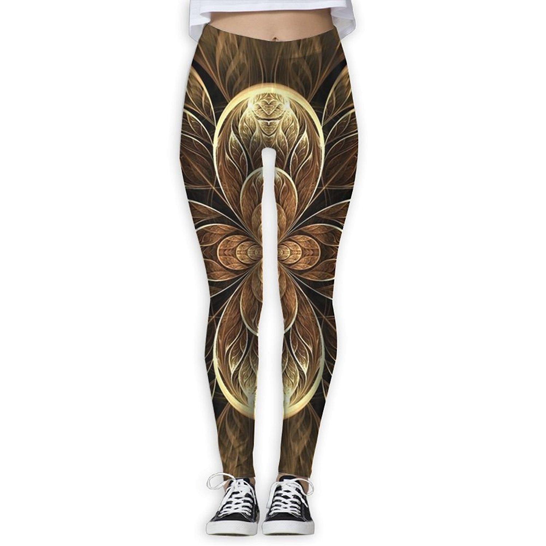 87bc183a2471c Get Quotations · Virgo Mandala Kaleidoscope Fitness Compression Pants/Yoga Pants  Gym Tights For Women Female Drawstring