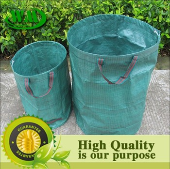 Hot Heavy Duty Plastic Garden Bag For Collection And Waste