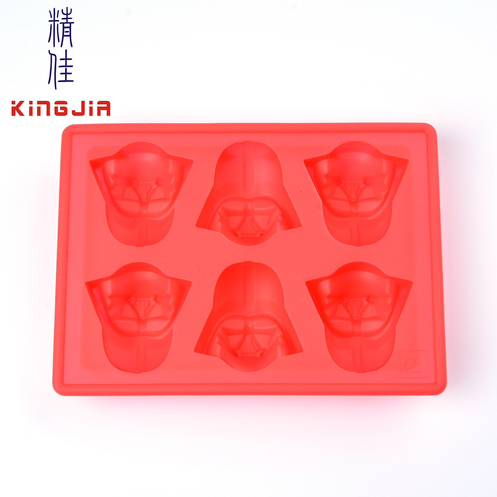 food grade silicone lego star for wars moulds ice cube tray