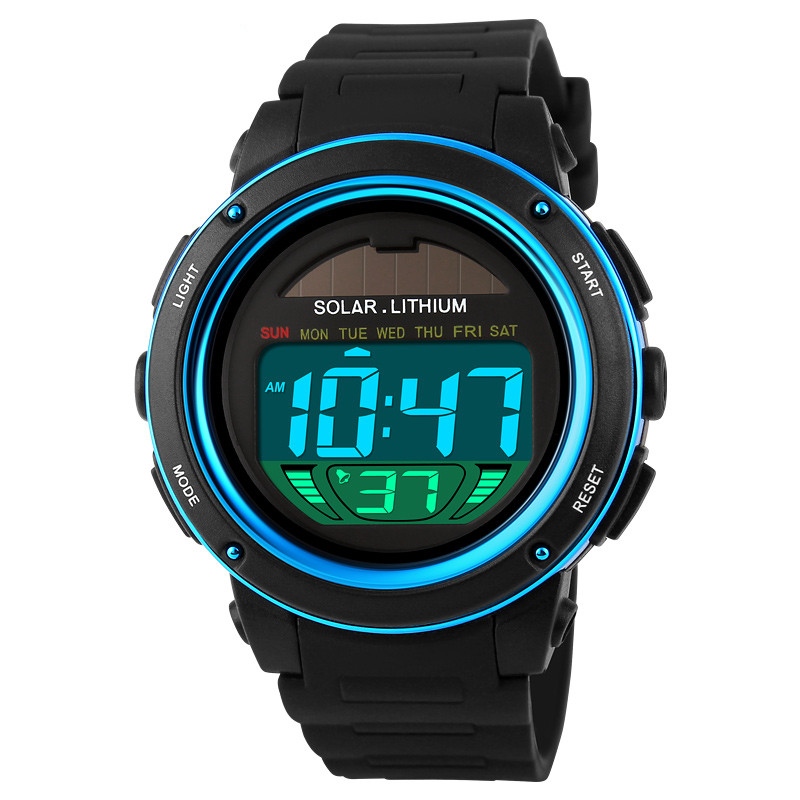 Quality skmei solar powered watches 1096 instructions sports solar digital watch for woman