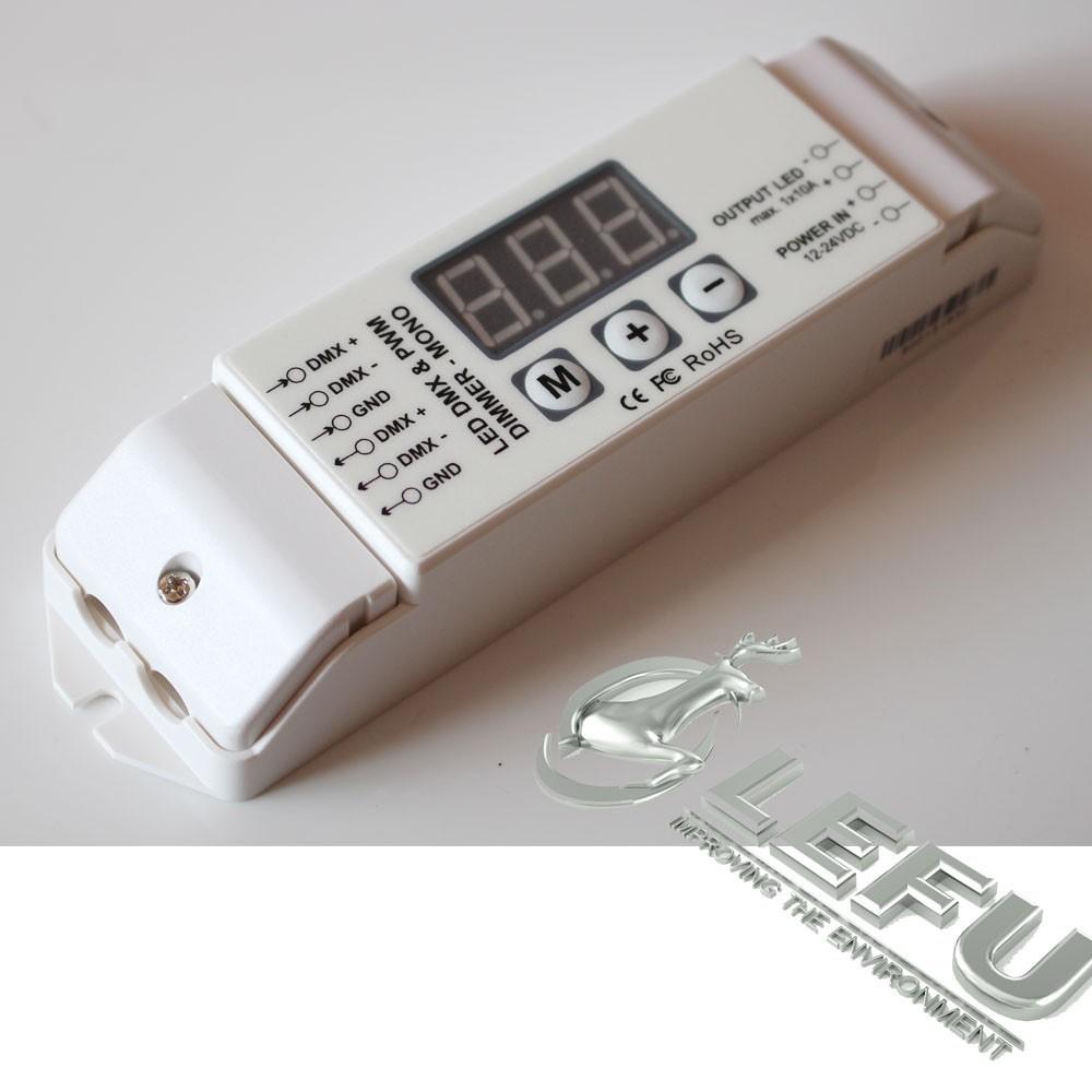 1ch 10a Pwm Led Dmx Controller