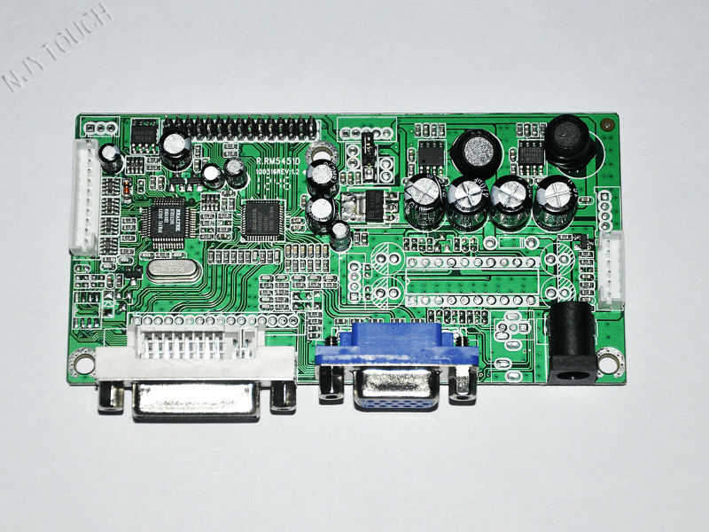 Lm201we3-tlf1 5451 Dvi Vga Lvds Lcd Monitor Controller Board Kit ...