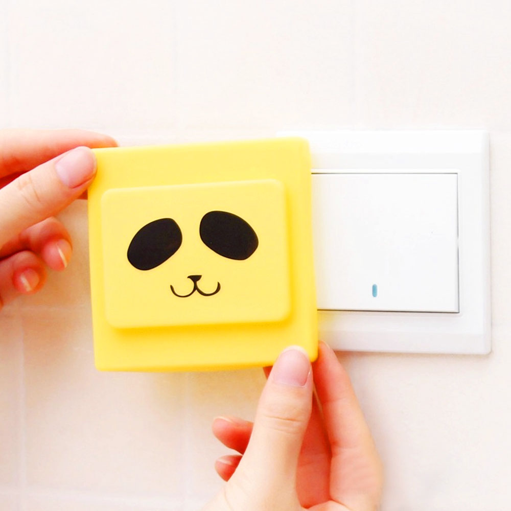 Cute Electrical Protecting silicone Rubber Switch Cover of Dust proof switch set