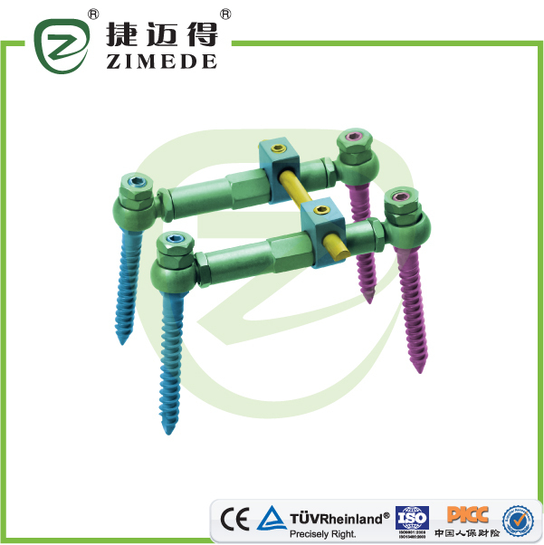 spine connection rod spine cross link device spine rod connecting device