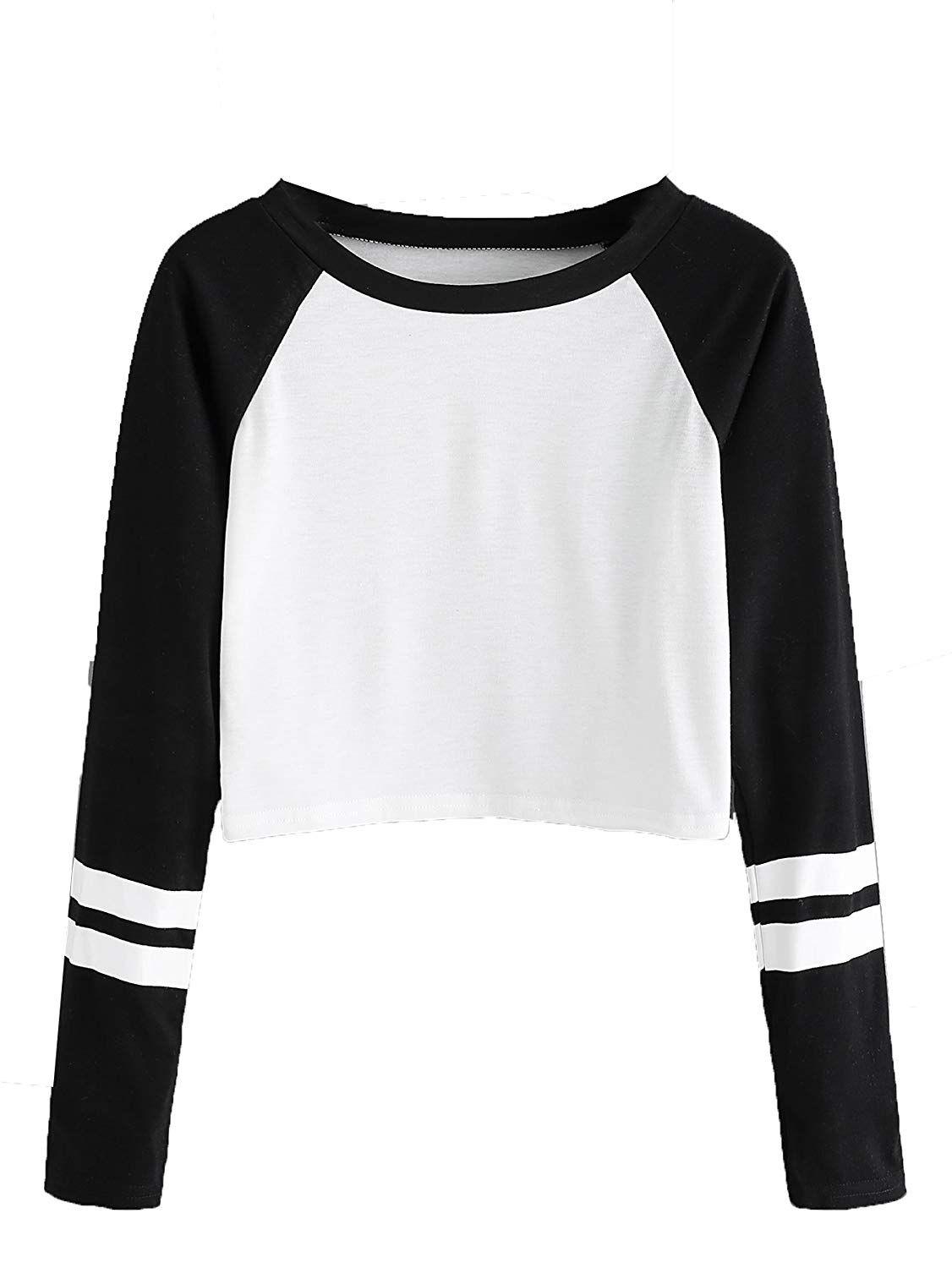 Made by Emma MBE Womens Trendy Raglan Long Sleeves Side Lace Up French Terry Top